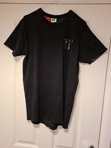 Mens 11 Degrees Tshirt Size Medium Black