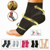 Compression Ankle Sleeve Copper Infused Magnetic Foot Support Heel Socks