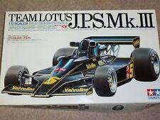 Tamiya 1/12 Scale Team Lotus J.P.S.Mk.III Model Car Kit