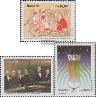 Brasilien 2425,2431,2432 (kompl.Ausg.) postfrisch 1991 Folklorefestival, Verfass