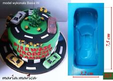 silicone molds (215) mercedes car mould mold cake fondant