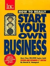How to Really Start Your Own Business : A Step-By-Step Guide, 3rd Edition (How