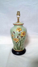 HAND FINISHED HONEY BEE CERAMIC TABLE LAMP GREG2035