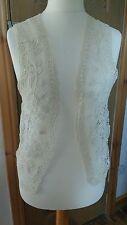 GERARD DAREL Lace Waistcoat, Size 40 (14), NWT