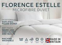 Luxurious 100% Soft Silky Microfibre Feels Like Down Duvet Quilt Double 13.5 Tog