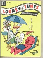 Looney Tunes And Merrie Melodies Comics #165-1955 vg/fn 5.0 Bugs Bunny Dell