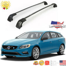 Top Roof Rack Fit FOR 2012 -2017 VOLVO V60 Baggage Luggage Cross Bar Crossbar