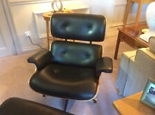 Charles Eames lounge chair and Footstool Reproduction...Superb Condition