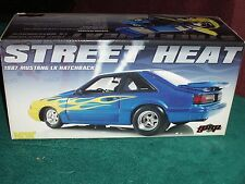 """GMP 1987 FORD MUSTANG COUPE LX """"STREET HEAT"""" CUSTOM PAINT 1/18"""
