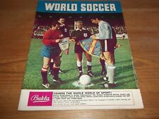 FOOTBALL MAGAZINE World Soccer septembre 1966 COUPE DU MONDE SIGNAL Statistics