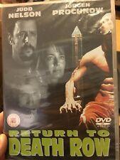 Return To Death Row NEW/sealed region 2 DVD (2001 Judd Nelson thriller movie)