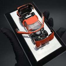 AUTOart 1/43 Lamborghini Miura SV diecast open close car model Orange 54542