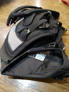 Magic Marine Harness vest Pro Mesh Black/Grey size Small with luckylink