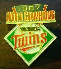 1987 Minnesota Twins World Championship Tack Pin