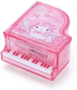 JAPAN Sanrio My Melody Piano Cosmetic Pencil Sharpener Pink Music Compact Beauty