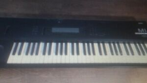 KORG M1 professional synthesizer - working conditions.