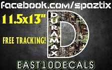 DURAMAX windshield decal diesel truck sticker DIRTYMAX 2500 3500 6.6