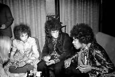 Jimi Hendrix Experience Helsinki Black & White Music Photo Print Picture