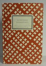 Insel- Bücherei Nr. 830 die Weisheit des Konfuzius