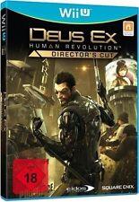 Nintendo Wii U WiiU Spiel Deus Ex: Human Revolution Director´s Cut*NEU*NEW*18*55