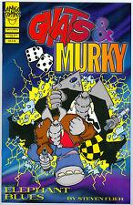 Comic - Gnats & Murky - Nr. 1 von 1998 mit Signatur des Zeichners Steven Flier