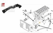 BMW E46 320i, 323i, 325i, 328i,330i Top Radiator Hose + Bleed Screw17127510952
