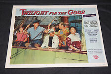 1958 Twilight For The Gods Lobby Card 58/276 #3 Rock Hudson (C-6)