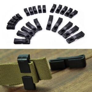 5x Quick Plastic Buckle Tactical Backpack Bag Webbing Belt Strap Clip outdoor^BI