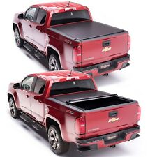 TruXedo Lo Pro Tonneau Roll Up Bed Cover for 15-20 Chevy Colorado GMC Canyon 5ft
