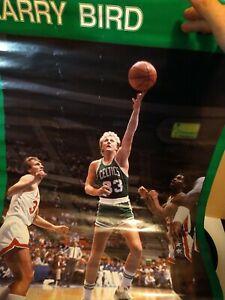 RARE LARRY BIRD CELTICS 1987 VINTAGE ORIGINAL NBA STARLINE POSTER