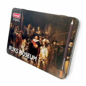 Bruynzeel - Rijks Museum Edition Tin of 50 High Quality Colouring Pencils