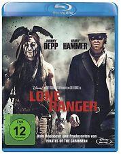 Lone Ranger  - Blu-ray - Disney - Johnny Depp