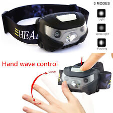 USB Rechargeable Headlamp Fish Super Bright Waterproof Head Torch/headlight LED