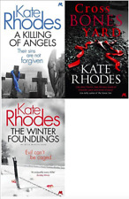 KATE RHODES ___ 3 BOOK SET COLLECTION ___ BRAND NEW ___ FREEPOST UK