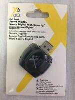 Xit SD/SDHC MicroSD Card Reader/Writer XTSDCR