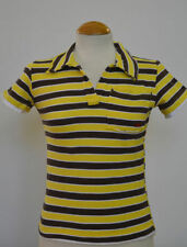 Girls' Striped Collared Short Sleeve Sleeve T-Shirts, Top & Shirts (2-16 Years)