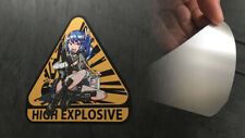"Dutchko's Girls Frontline ""K11 High Explosive"" Sticker"