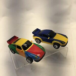 Artin 1/32 Slot Cars Porsche GT Super Looper Used Untested