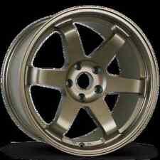 Avid1 AV06 18X9.5 Rims 5x114.3mm +38 Bronze Wheels Fits 350z G35 Rx8 Rx7 TL