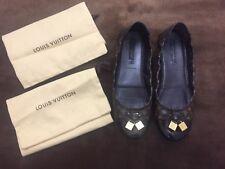 Authentic LOUIS VUITTON Flat Shoes. Size 37.5