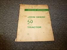 John Deere 50 Series Tractor Technical Repair Service Manual SM2010