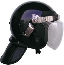 ANTI RIOT HELMET WITH NECK PROTECTION AND FACE SHIELD - WESTROOPER