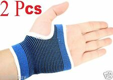 2 Pcs Wrist Hand Brace Palm Elastic Support Carpal Tunnel Tendonitis Pain Relief