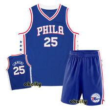 8cd79b2faea Top   Shorts Ben Simmons 25 Philadelphia Sixers 76ers NBA Youth Child Kid  Jersey
