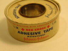 Older Johnson & Johnson Red Cross Adhesive Tape tin