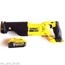 Dewalt DCS380 20V Cordless Reciprocating Saw, (1) DCB205 5.0 AH Battery 20 volt