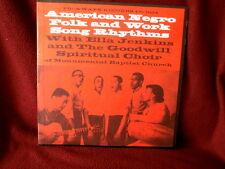 AMERICAN NEGRO FOLK AND WORK SONG RHYTHMS~NEAR MINT~RARE ~ POP  LP