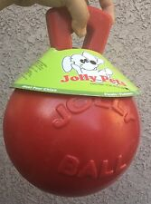 Jolly Pets Tug-N-Toss Interactive Floats Large 8 Red Made in the USA