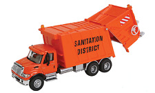 WALTHERS GARBAGE TRUCK & PREISER GARBAGE COLLECTORS Combo Pack  NEW! HO SCALE!