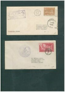 Philippines - 2 FDCs, 1934 & 35 plus 2 Covers to the USA